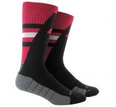 adidas Team Speed Traxion Crew (Large) - Vivid Berry/Black