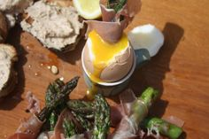 Summer snacks, nibbles and canape recipes available at Wanderlust and Bake..  egg and soldiers