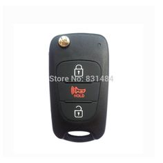 3 button Replacement Folding Remote Key Shell for Hyundai Case Fob case cover Uncut Blade #Affiliate