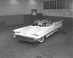 The Lincoln Futura concept car – cool and then some!