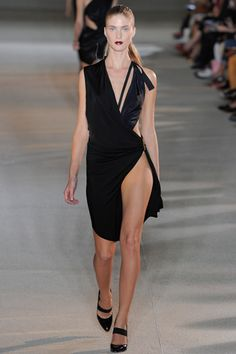 Anthony Vaccarello Spring 2012 RTW