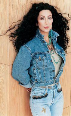 Cher in denim