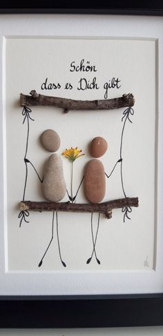 Stone Picture, Love, Friendship, Gift, Wedding - LiebeFreundschaft Geschenk HochzeitSteinbild image 1 You are in the right place about diy face mask - Diy Wedding, Wedding Gifts, Wedding Makeup, Fall Wedding, Wedding Flowers, Wedding Venues, Stone Pictures, Friendship Gifts, Pebble Art