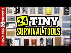 I discuss 24 different survival tools that are wallet sized, which are gadgets and which are gimmicks? Survival Videos, Survival Tools, Survival Guide, Zombie Apocalypse Survival, Card Sizes, Wallet, Youtube, Edc, Prepping