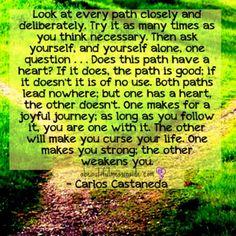 Carlos Castaneda....