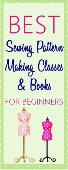 Ultimate List of Online Sewing Pattern Making Classes & Books | sewing pattern making | copy ready to wear garment | make own sewing patterns
