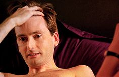David Tennant being sexy... it's just SO easy for him!!