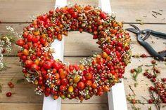 Gartenzauber | Hagebuttenkranz gestalten - Gartenzauber