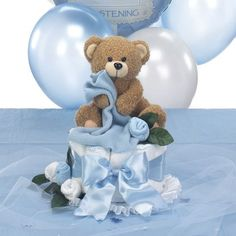 Baptism+Centerpieces | ... Cake Centerpiece & Table Decorations Package for Baptism - $42.00