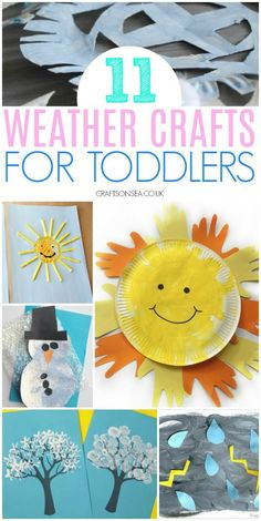 Easy weather crafts