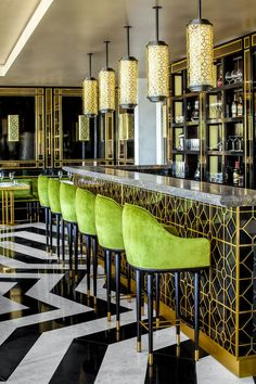 52 Ideas For Art Deco Restaurant Interior Inspiration Restaurant Design, Deco Restaurant, Chinese Restaurant, Colorful Restaurant, Luxury Restaurant, Restaurant Tables, Art Deco Bar, Cafe Bar, Interiores Art Deco