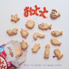 sea animal biscuits