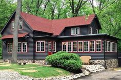 Red Roof House Colors Share House In 2019 Red Roof