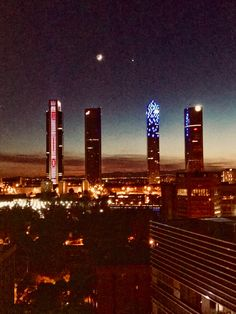 Cuatro Torres (Madrid, Spain)