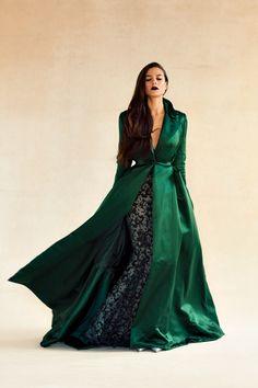 Pop Culture And Fashion Magic: Emerald green