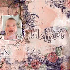 A Digital Scrapbooking Page by Rachel Jefferies Designs using products created by On A Whimsical Adventure. Click through to find a list of products used to create this page. Journal Layout, Paper Clip, Digital Scrapbooking, Whimsical, Digital Art, Adventure, Create, Heart, Happy