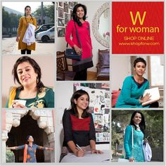 #Summer is all about fresh #colors and enjoyment. Add colors to your wardrobe with W. Click on the link to buy online - www.shopforw.com