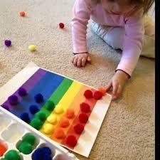 Výsledek obrázku pro clasificación de colores actividades con material manipulativo de aprendizaje