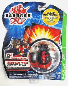 Bakugan LARS LION Battle Brawlers Black Darkus Booster Pack 2003 USA NEW #SpinMaster #Bakugan #Cyberontix
