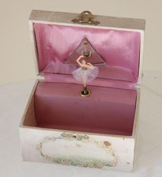 Musical Jewelry Box with Ballerina