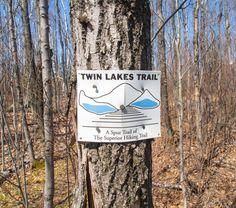 Bean and Bear Lakes Superior Hiking Trail Trail Signs, Twin Lakes, Lake Superior, North Shore, Hiking Trails, Minnesota, Adventure, Bear, Beautiful