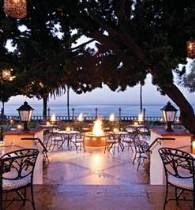 """Nothing like dining seaside and al fresco at Bella Vista, voted by OpenTable reviewers as """"Top 100 Outdoor Dining Restaurants - 2013 Diners' Choice Winners"""""""