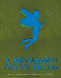 A Midsummer Night's Dream. Shakespeare Posters by Mary Dean -- again... not sure this works for me, but pinning it for the set.