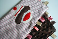Just Another Day in Paradise: Sock Monkey Snuggle Square Tutorial