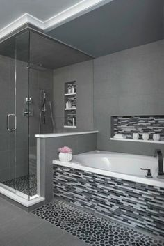 Every bathroom remodel starts with a design suggestion. From full master bathroom renovations, smaller sized visitor bath remodels, and bathroom remodels of all dimensions. Bad Inspiration, Bathroom Inspiration, Bathroom Ideas, Bathroom Remodeling, Remodeling Ideas, Simple Bathroom, Bathroom Designs, Bathroom Makeovers, Bathroom Bin