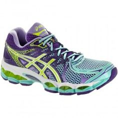 ASICS GEL-Nimbus® 16 Women's Ice Blue/Flash Yellow/Purple