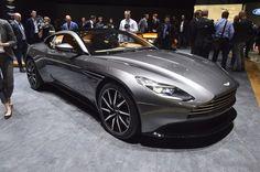 Aston Martin DB11 debuts at the 2016 Geneva Motor Show