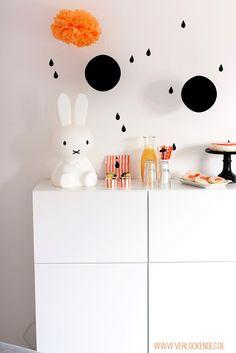 Miffy sweet table partydeko