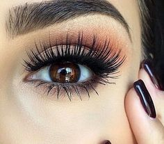 Eye make up. #lashes