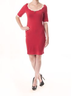 Sweet Basic Dress - red - NAPO Shop - der offizielle Nastrovje Potsdam Shop
