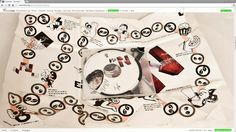 Package Design, here: CD Music (rock, young alternative) & Board Game 2-in-1 Package for Youth, Creamteam Branding & Advertising Design Studio, www.creamteam.biz, creamteam.pl