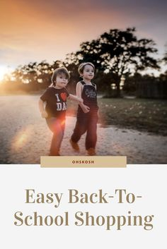 #ad Back to school was easy this year with Oshkosh B'Gosh - They have the best clothes for babies, toddlers and kids! #StyleUp4School