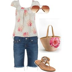 cute summer outfit, created by gloria22