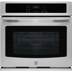 """Kenmore 49403 27"""" Electric Self-Clean Single Wall Oven - Stainless Steel - Sears"""
