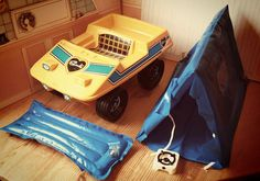 Sindy beach buggy and camping set. I had this as a kid!