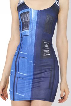 Police Box Dress yes...don't know how they're getting away with using the images but I don't care