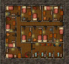 Wrafton's Inn 1st floor