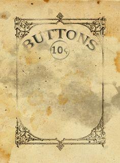 free printable button card