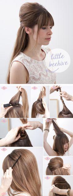 Para as meninas que estão cansadas de sair sempre com o mesmo cabelo, encontrei três sugestões de penteados bem práticos e lindos de morrer. Já vale guardar como inspiração para usar no verão, já q…