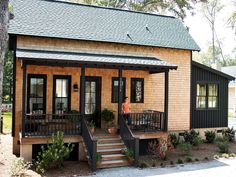 """This plan is 963 Heated Square Feet, 2 Bedrooms and 2 Bathrooms. The master bedroom is on the main floor. The dimensions are 22'-4"""" x 41'-8"""". NC0052"""
