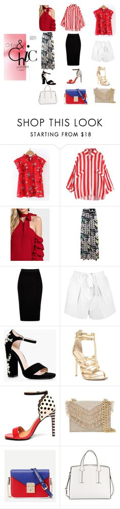 """Cheap & Chic"" by ritaosantos ❤ liked on Polyvore featuring WithChic, River Island, Boohoo, Chinese Laundry, Mambo, Cynthia Rowley, French Connection, GetTheLook, chic and cheapandchic"