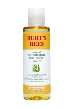 Facial Cleansers - Burt's Bees - Anti-Blemish Purifying Gel Cleanser