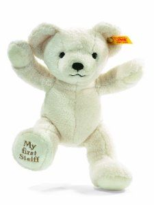 My First Steiff Teddy Bear, Creme, $24.29+$5.99shipping