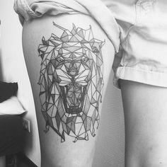 UNDER MY SKIN - Russian tattooist Diana Katsko has inked old-school themes from swallows to lotuses, but what she is best known for is her geometric portraits of people and animals.