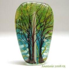 beautiful glass | summer fling, beautiful beads, craftcast class | Daily Art Muse