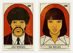 Fan Art Posters of Pulp Fiction – Fubiz™